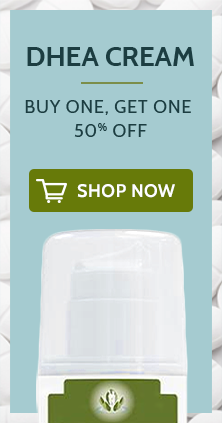 Buy One, Get One 50% Off DHEA Cream